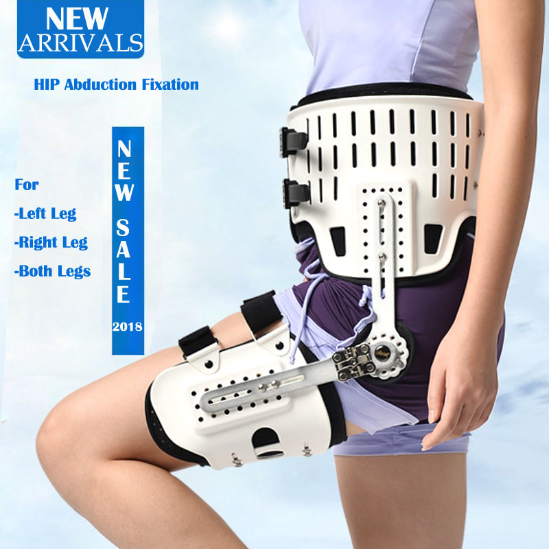 Hip Abduction Fixtion Orthosis For Dislocation of Hip Joint Leg Injury Hip Replacement Lower Limbs Extremity Paralysis Fixed