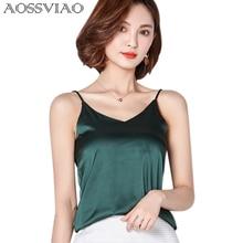 New Summer Autumn style Imitation Silk Women Blouse Shirt Sexy White Tops Women Blouses Party Girls Blusas Shirts 2019 Fashion