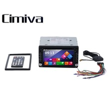 Cimiva 7 Pulgadas TFT 3 Tamaño Más Nuevo Mini UI 1080 P 2 Din Car CD/Reproductor de DVD de Vídeo Estéreo GPS Incorporado Bluetooth
