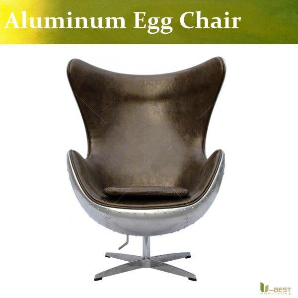 U-BEST high quality Aluminum  Eero Aarnio EyeBall Chair, Egg Chair,Ball chair Living Room Chair u best replica eero aarnio half dome chair with fibreglass and high quality pu leather