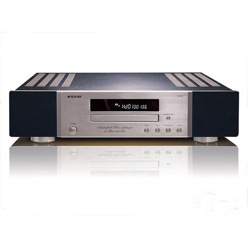 Музыкальный компакт диск плеер Высокое качество движение с AD1955 декодирования независимых FET Tube выходной усилитель цепи Marantz Audio 110 V/220 V