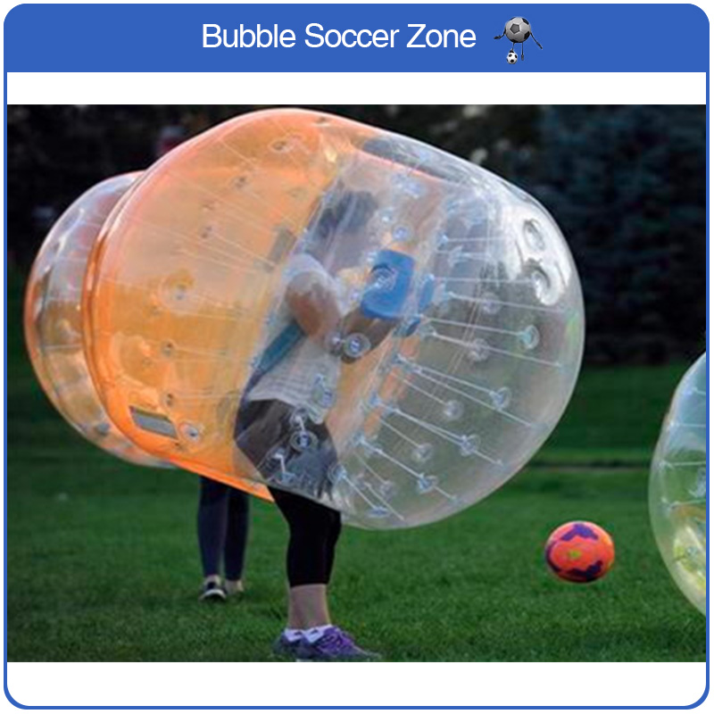 Free Shipping Good Quality Inflatable Bumper Bubble Ball Inflatable Bubble Soccer Ball Body Zorb Ball Soccer Football Loopy Ball