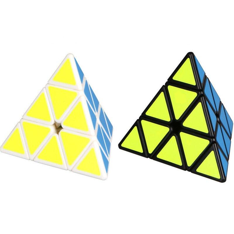 VARIAR 3x3x3 pirâmide pirâmide Cubo Mágico Cubo Magico profissional Puzzle educação brinquedos para as crianças