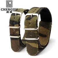 Camouflage Men S Watch Band For Daniel Wellington Navy Strap Bracelet Army Wrist Watchband Belt 18