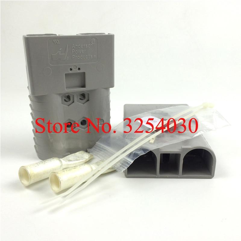Поставка импортированных США Orginal серый 600V 350A Anderson батареи разъемы серый SBX350 для электрических тележек
