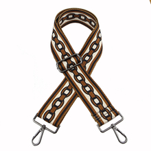 Female bag wide straps joker long shoulder STRAP accessories worn ribbon canvas Shoulder strap can be stretched