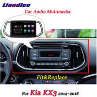Liandlee автомобильная система Android для Kia KX3 2014 ~ 2018 стерео радио видео Wifi BT USB AUX gps карта навигатор навигация Мультимедиа без DVD