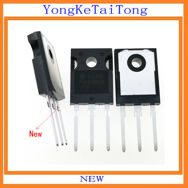 10PCS 20PCS/LOT FGH40N60UFD FGH40N60 40N60 IGBT 600V 40A TO24710PCS 20PCS/LOT FGH40N60UFD FGH40N60 40N60 IGBT 600V 40A TO247