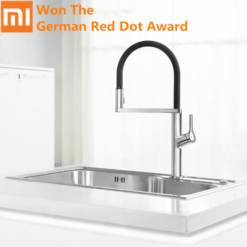2019 Mijia Dabai U-Yue Kitchen Intelligent Sensor Switch Faucet 300 Rotating Arm Universal Tube Water Kitchen Stensils