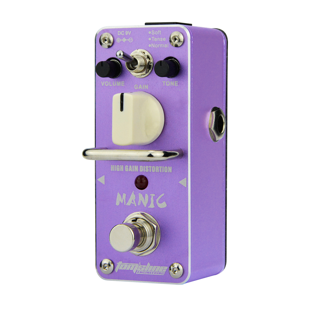 Aroma  Manic High Gain Distortion Guitar Effect Pedal AMC-3 Truebypass Normal Mode Tense Mode Gain Control Mini Analogue палатка normal виктория 3