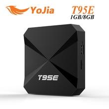 T95E RK3229 Rockchip Quad-Core Andorid 6.0 TV BOX 1 GB/2 GB 8 GB 2.4 GHz WiFi Google Play Store preinstalado Caja del IPTV Reproductor Multimedia