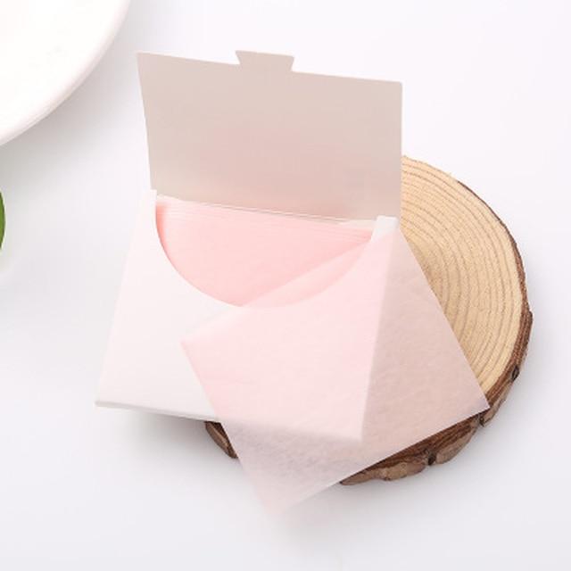 50Pcs Sheets/Pack Flamingo Makeup Facial Face Clean Oil Absorbing Blotting Papers Beauty Tools Pattern Random Facial Tissue 5