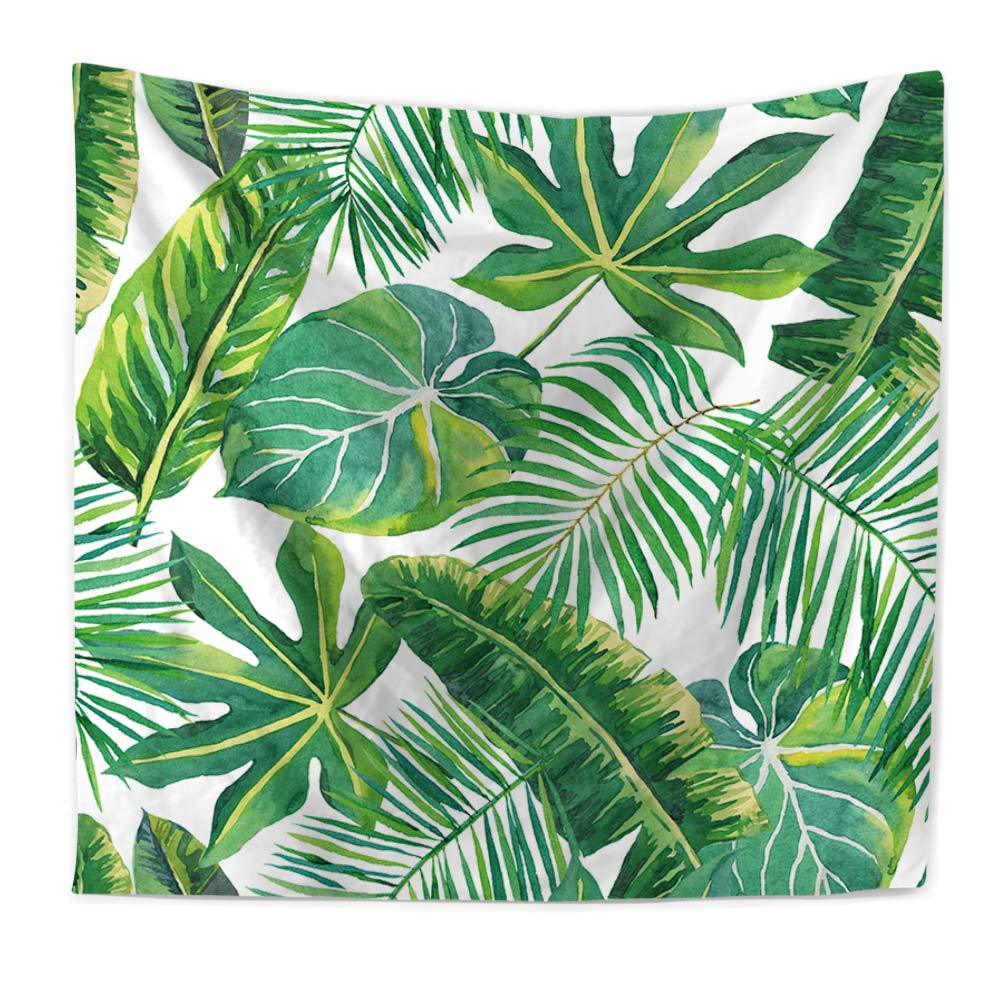 Wall tapestry tropical palm telopea monstera ceriman wall decor wall tapestry tropical palm telopea monstera ceriman wall decor large wall hanging green leaf wall art 150x130cm200x150cm in tapestry from home garden on amipublicfo Images