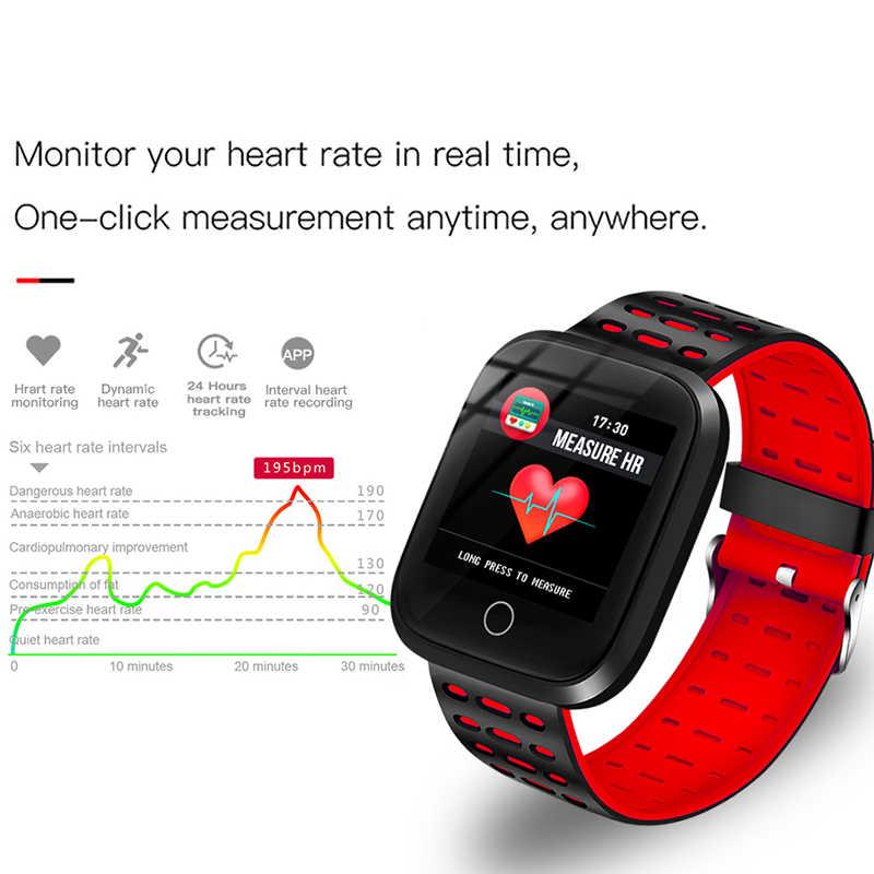 BANGWEI Smart Watch Women Heart Rate Blood Pressure Monitor LED Smart Watch Wristwatch Fitness tracker Pedometer Sport Watch+Box