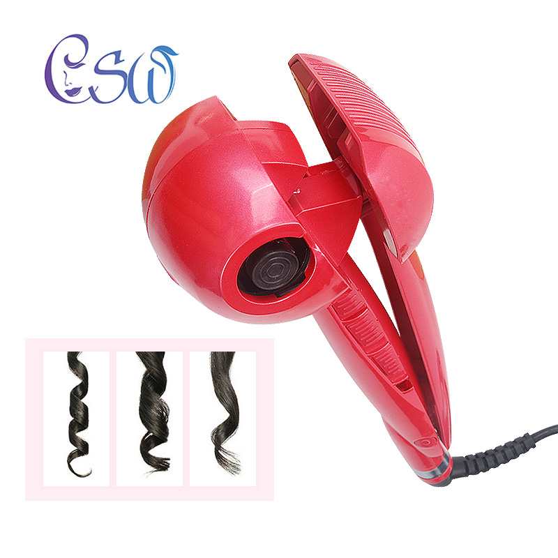 Hot Sale Csw Quick Fixed Hairstyle Automatic Hair Curle Curling