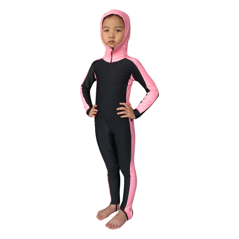 f1acdc5ee7 Kids Boys One Piece Swimsuit Long Sleeve Full Body Sun Protection Bathing  Suit Boys' Clothing (Sizes ...