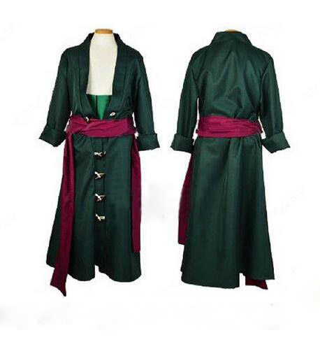 Zoro Anime One Piece Roronoa Zoro Cosplay Costumes Men/women cosplay dress
