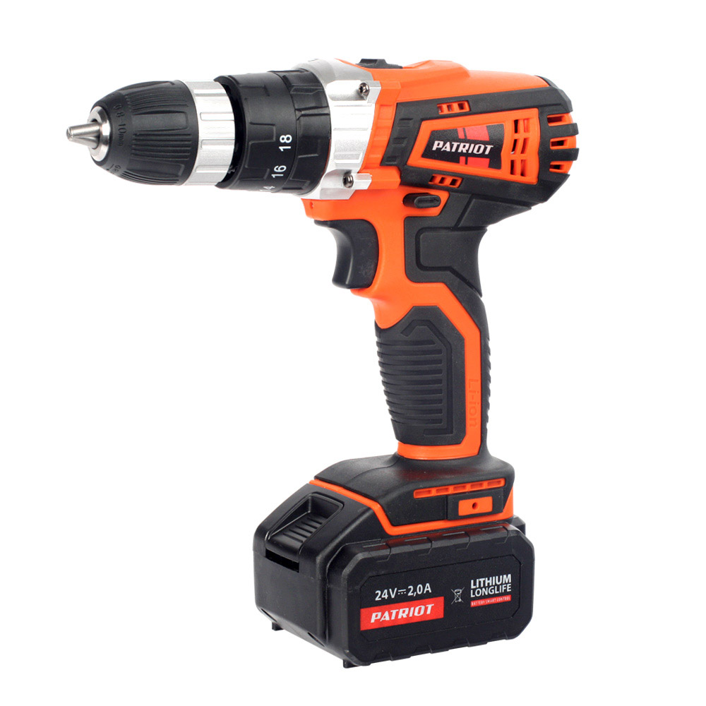 Cordless drill screwdriver PATRIOT BR 241Li-h The One cordless drill driver patriot br 104li the one