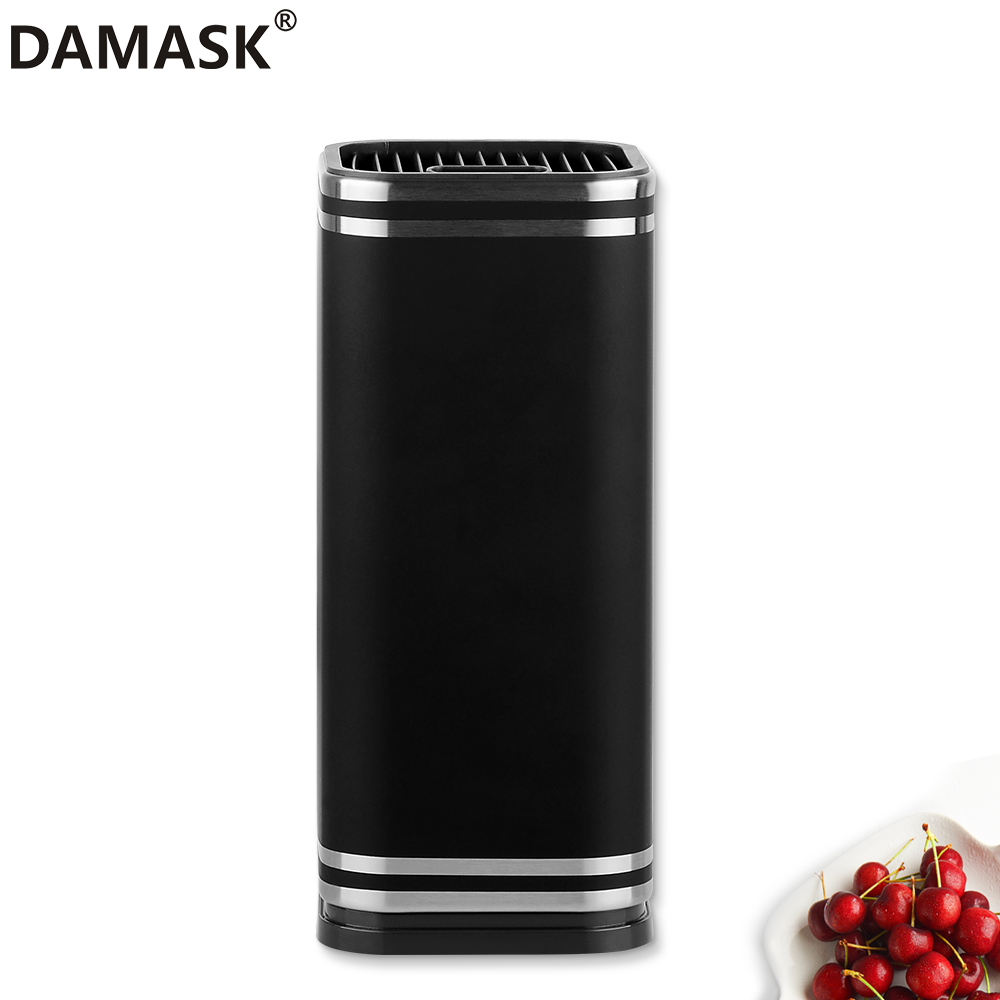 8 Inch Kitchen Knife Holder DAMASK Brand Tools Holder Large Capacity Kitchen Tool Damascus And Stainless Steel Knife Holder