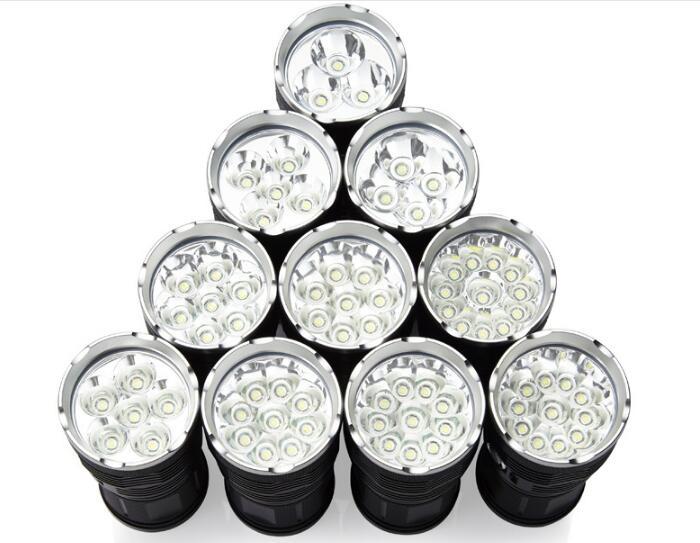 42000 Lumens Flashlight 14t6 Dt70 Led Outdoor Lighting Waterproof