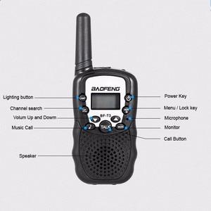Image 5 - 2 STUKS Baofeng BF T3 Walkie Talkie Beste Geschenk voor Kinderen Kinderen Radio Mini Handheld T3 Draadloze Twee Manier Radio Kids speelgoed Woki Toki