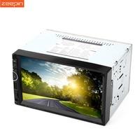 Universal 2 Din Car Radio Video Stereo Player 8001 RDS GPS Navigation FM USB AUX Bluetooth