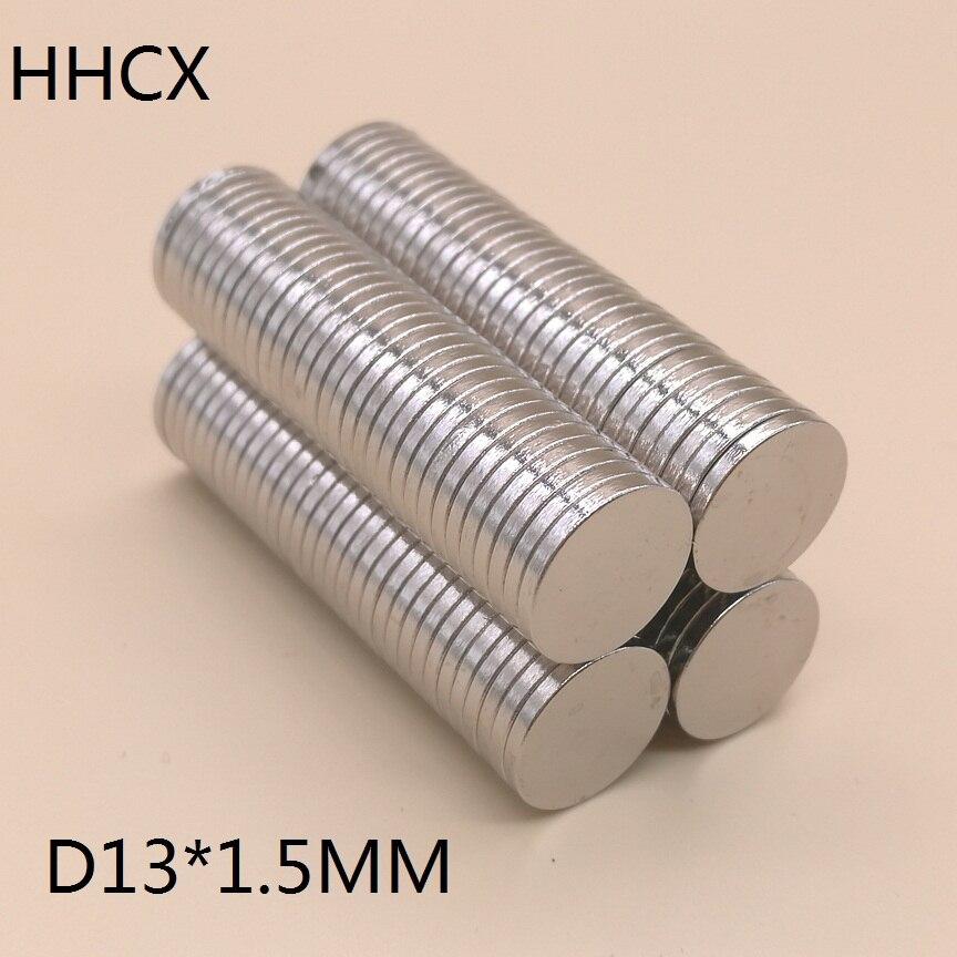 Zielstrebig 100 Teile/los D 13x1,5mm N35 Starke Disc Ndfeb Seltenerd-magnet 13*1,5mm Neodym-magneten 13 Mm X 1,5 Mm Im Sommer KüHl Und Im Winter Warm Heimwerker Hardware
