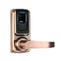 Free Shipping RFID Fingerprint Biometric Access Smart Intelligent Electronic Door Lock with DeadBolt Keyless Support Battery