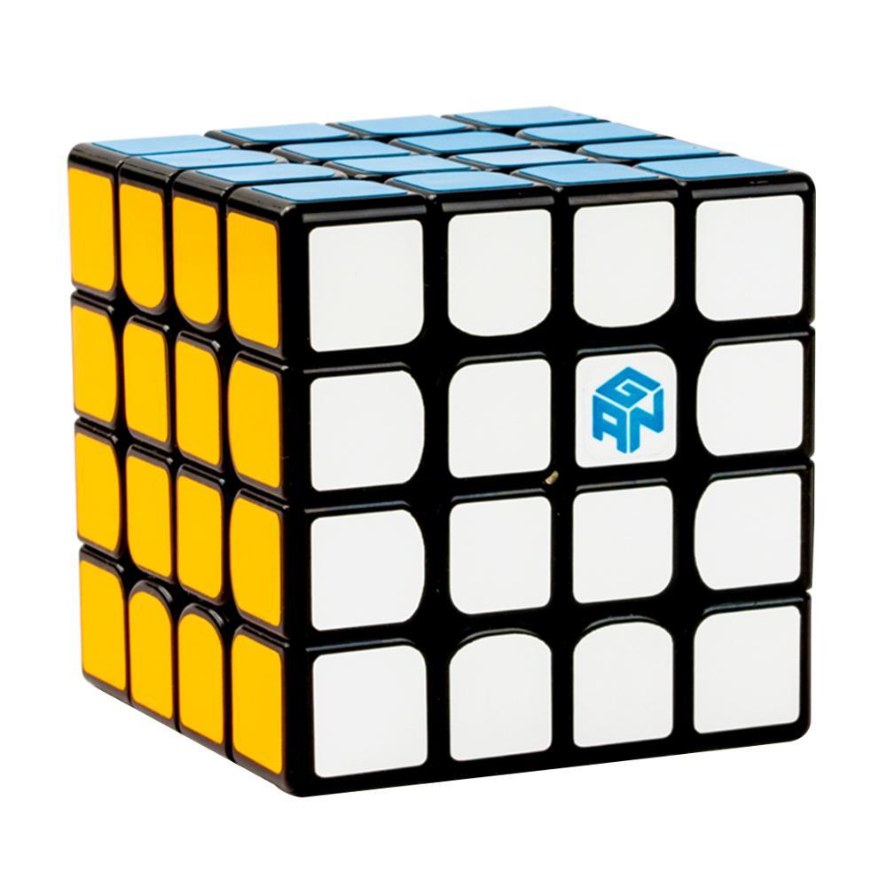 2019 nouveautés GAN460M Type magnétique 4x4 Cube magique Puzzle jouet pour la formation du cerveau-coloré