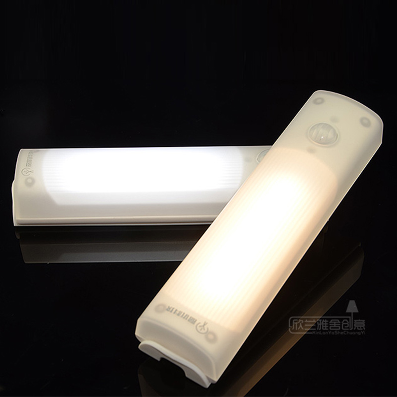Under cabinet lights body sound sensor kitchen hallway foyer strip night light feeding emergency lamp light for children gifts