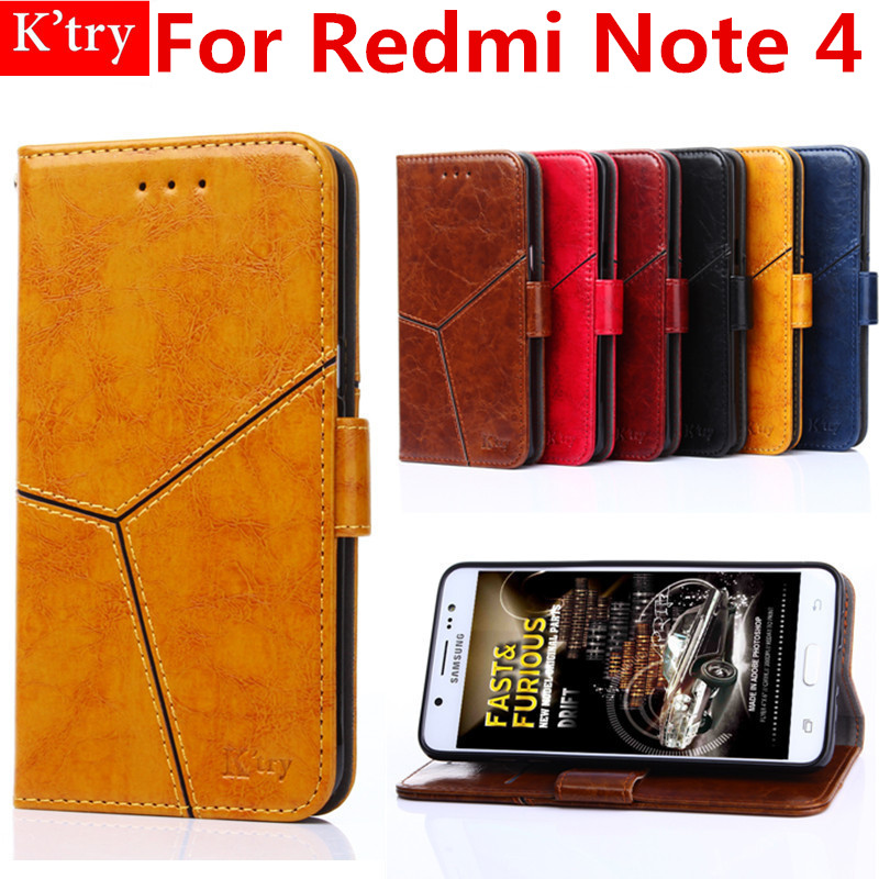 6 Colors Luxury Wallet Case For Xiomi Xiaomi Redmi note 4 Book Flip Cover Leather Stand Phone Bag Case For Redmi note 4 5.5 inch