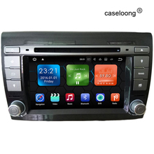 Android 7.1 Car DVD for Fiat Bravo 2007 2008 2009 2010 2011 2012 car radio gps stereo tape recorder with 2G RAM bluetooth wifi