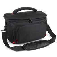 High Capacity 2/3 Lens DSLR Camera Bag Case For Sony A7 Mark II III 3 A7M3 A9 A77 A99 A65 A58 A57 A37 A35 A580 A560 Shoulder Bag