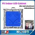 0.64 x 0.64 м видео-дисплей доска p5 крытый из светодиодов дисплей аренду умирают - литого алюминия крытый из светодиодов видео экран доска