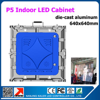 TEEHOvideo display board p5 indoor led smd 2835 led display rental cabinet die cast aluminum indoor led video screen wall board
