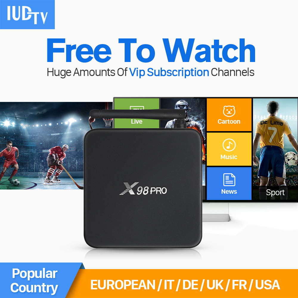 S912 Octa Core 2G+16G Smart TV Set Top Box Android with IUDTV Account IPTV Subscription 1 Year 4K HD IPTV Europe Abaric Channels 10pcs lot new csa90 andriod 5 1 smart tv box octa core rk3368 2g 16g 4k hdmi 2 0 with remotecontrol