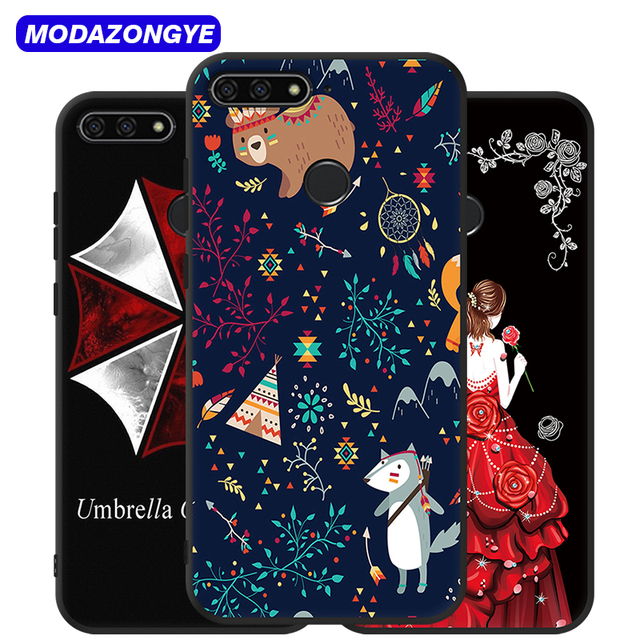 newest collection 41552 13794 US $1.99 20% OFF|Huawei Y6 Prime 2018 Case Huawei Y6prime 2018 Case 5.7