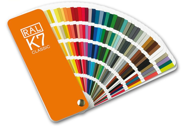 FREE SHIPPING, Germany RAL K7 international standard color card raul - paint coatings color card ral swatch