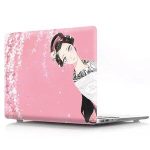 Image 3 - Farbe druck notebook fall für Macbook Air 11 13 Pro Retina 12 13 15 zoll Farben Touch Bar Neue Pro 13 15 oder Neue Air 13 Kimono