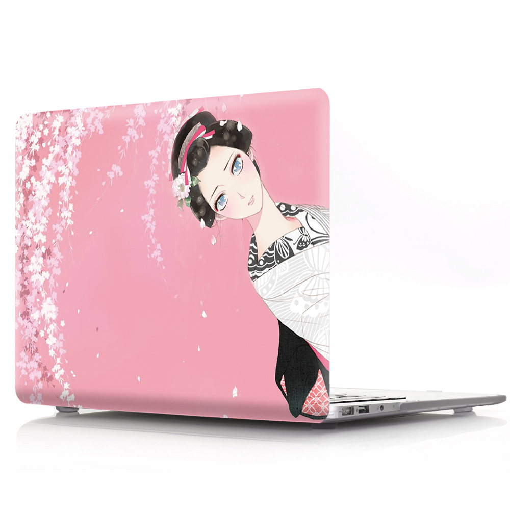Image 3 - Чехол для ноутбука с цветной печатью для Macbook Air 11 13 Pro retina 12 13 15 дюймов цвета Touch Bar новый Pro 13 15 или новый Air 13 кимоно-in Сумки и чехлы для ноутбука from Компьютер и офис