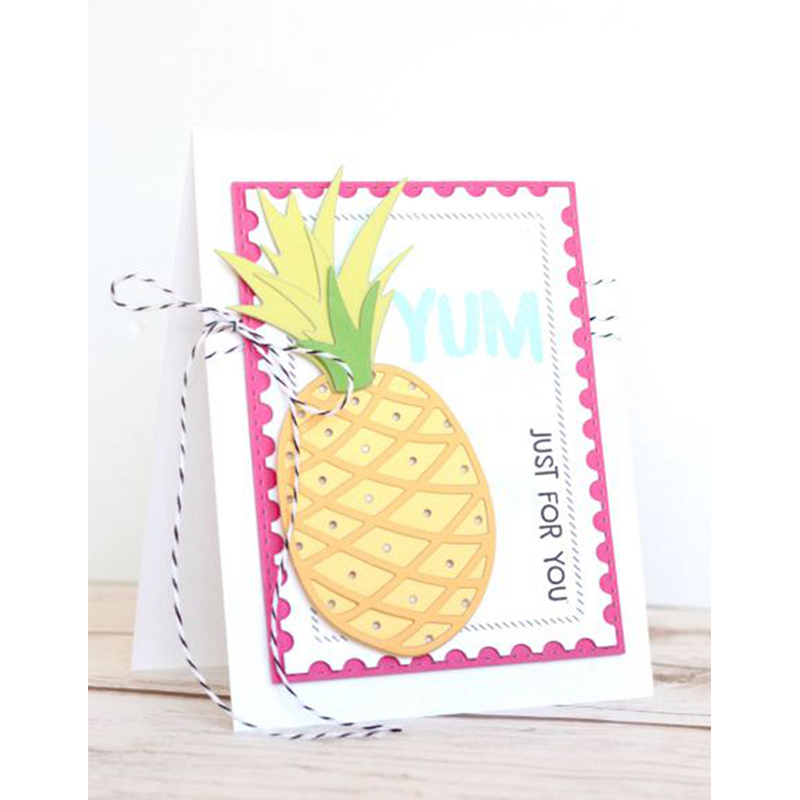 Cute Fruit Ananas Metal Cutting Dies Stencils For DIY Scrapbooking Decorative Embossing Suit Paper Cards Die Cutting Template