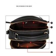 Women Leather Handbag Hairball Messenger Bags