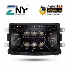 8 «ips Android 8,0 стерео 1 din Авторадио для Renault Duster DACIA sandero Logan Dokker Captur 4 Гб ОЗУ, gps навигации без DVD