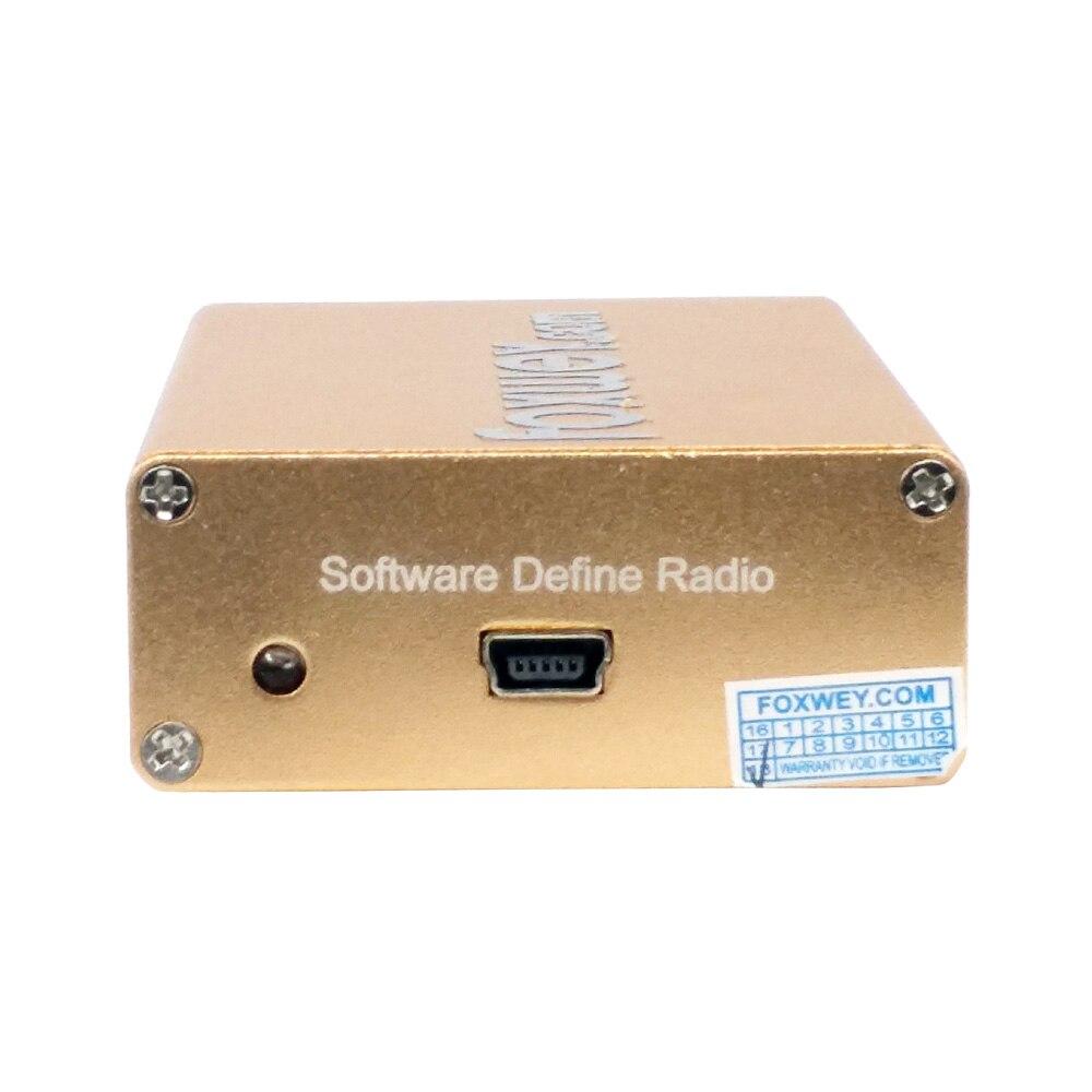 Nouveau SDR RTL2832U R820T2 HF réception 100 K-1.8G TXCO 0.5 PPM SMA logiciel défini radiofréquence précise - 3