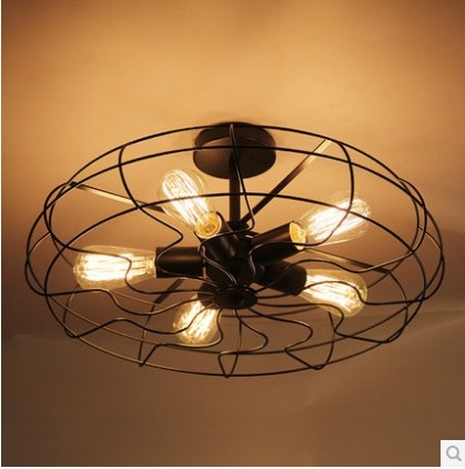 5 light edison retro creative fan ceiling lamp light for dinning 5 light edison retro creative fan ceiling lamp light for dinning room balcony and bedroom ikea mozeypictures Image collections