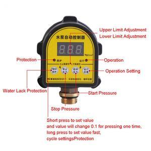 Image 2 - Bomba de aire automática Digital, controlador de presión de compresor de agua, interruptor para bomba de agua, encendido/apagado, 220V