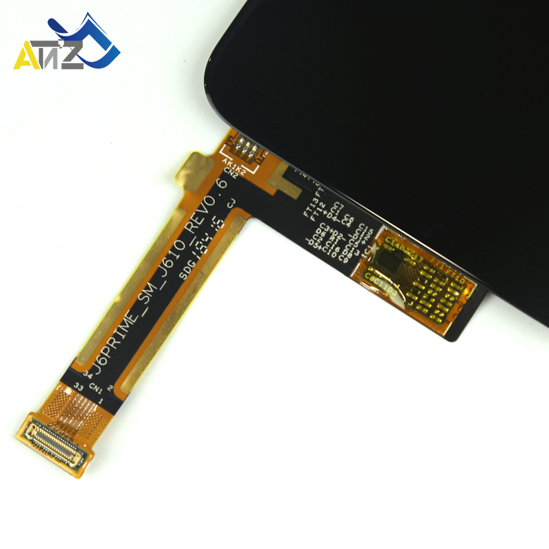 """Image 5 - An'Z For 6.0"""" Samsung Galaxy J6 plus j610FN LCD Screen SM J610G/DS 2018 lcd display OEM pantalla ekran Touch Digitizer-in Mobile Phone LCD Screens from Cellphones & Telecommunications"""