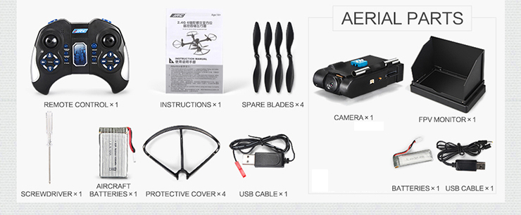 JJRC H11D 6-Axis Gryo 5.8G FPV Headless Mode RC Quadcopter with 2MP Camera RTF 2.4GHz