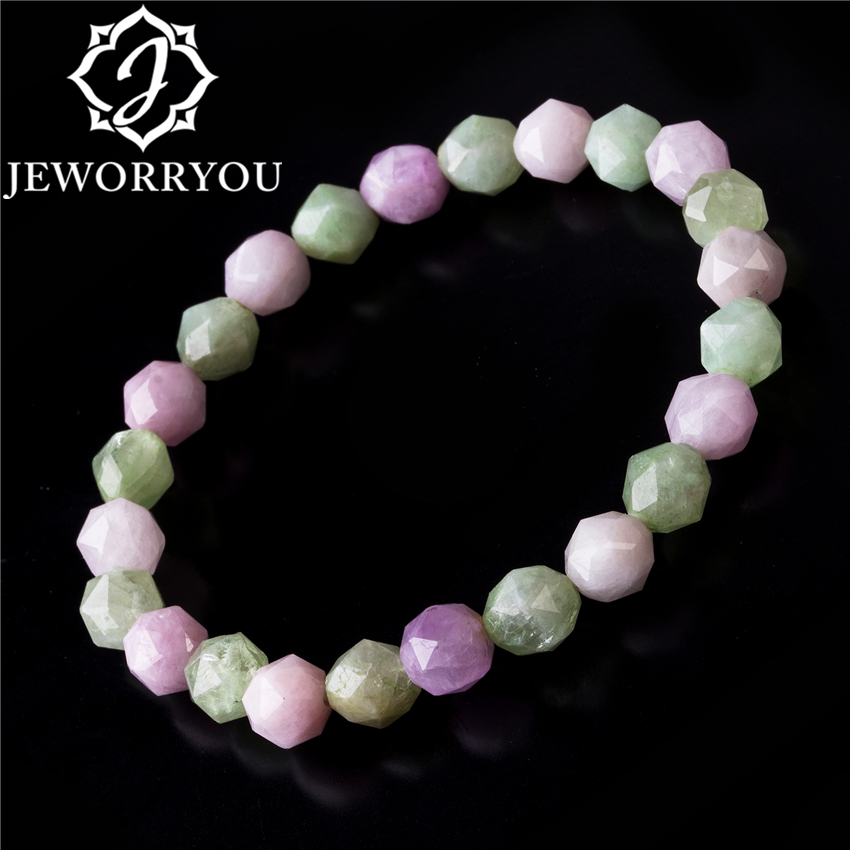 7.5-8mm Morganite Bracelets Men Beryl Stone Bracelet Colorful Faceted Jewelry Making Women Bracelets Beads Round 7.5-8mm Morganite Bracelets Men Beryl Stone Bracelet Colorful Faceted Jewelry Making Women Bracelets Beads Round