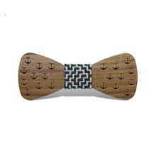 Wooden Bow Ties For Men and Kids